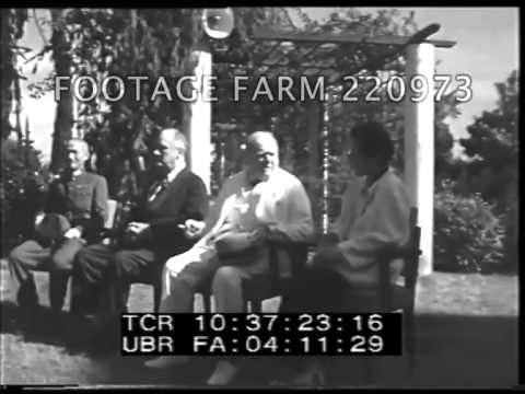 1943 Cairo Conference 220973-07 | Footage Farm