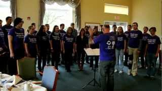 "Nevada Union Chamber Choir ""Oh, No John!"" 4/11/12"