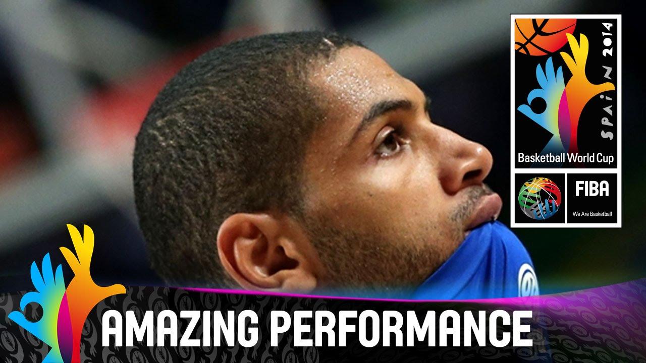3ce31c9899f9 Nicolas Batum - Amazing Performance - Semi-Final - 2014 FIBA Basketball  World Cup