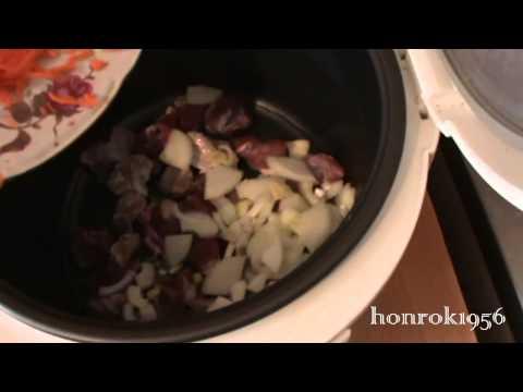 Рис с фаршем в мультиварке пошаговый рецепт с фото на