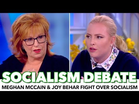 Meghan McCain And Joy Behar Fight Over Socialism On The View