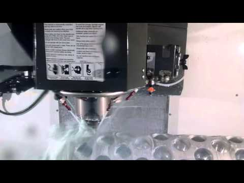 Haas VF4-SS and HRT-210 Indexer.