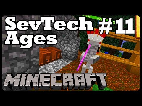 Minecraft: SevTech Ages - Ep  11 SUMMONING BAYKOK :( (Modpack)