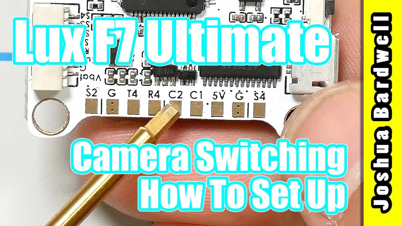 Lumenier Lux F7 Ultimate Setup Camera And Vtx Switching