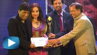 Raju Shrivastav Best Comedy Ever At The 20th Lions Gold Awards