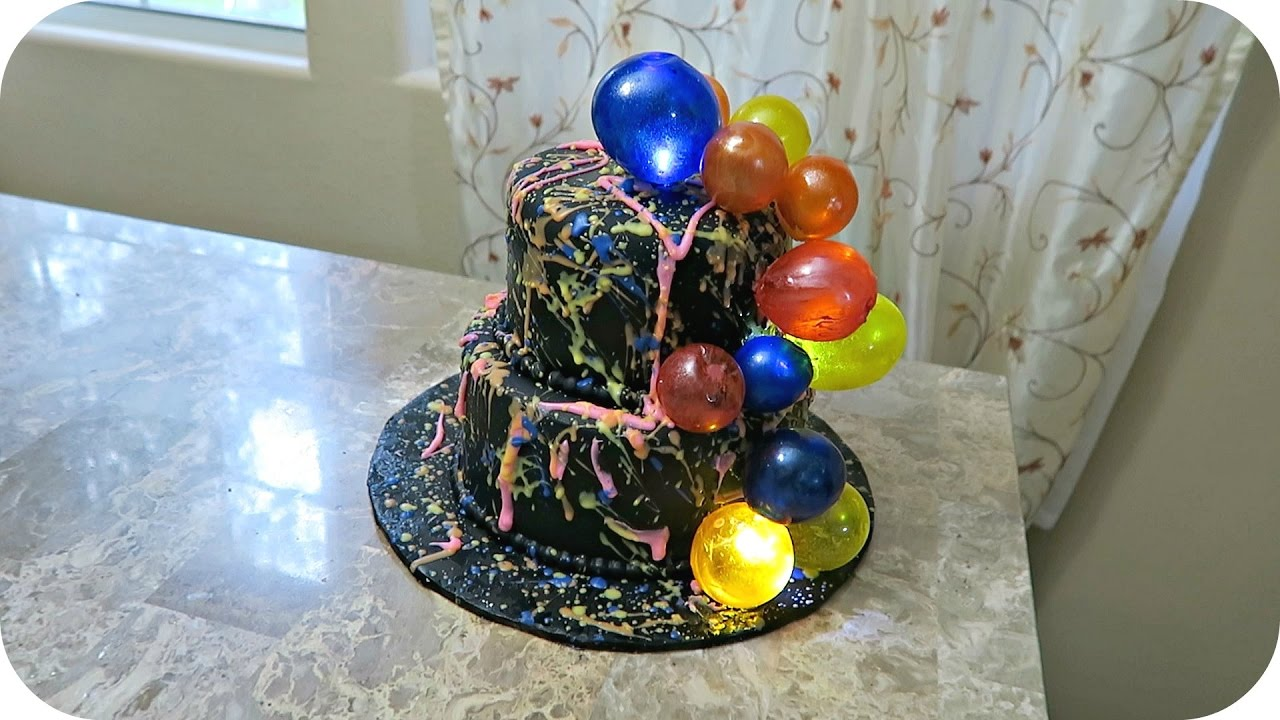 How to make gelatin bubbles for cakes cupcakes