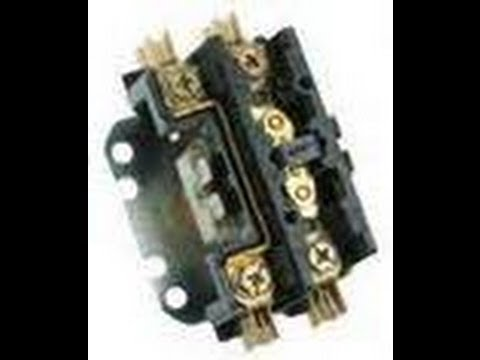 Compressor fails to Start  Contactor Check HVAC Tech Tips 2 - YouTube