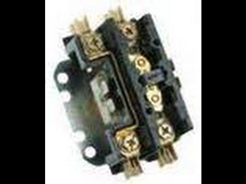 2 Pole Wiring Diagram Compressor Fails To Start Contactor Check Hvac Tech Tips