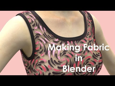 How to Create Fabric Using Blender