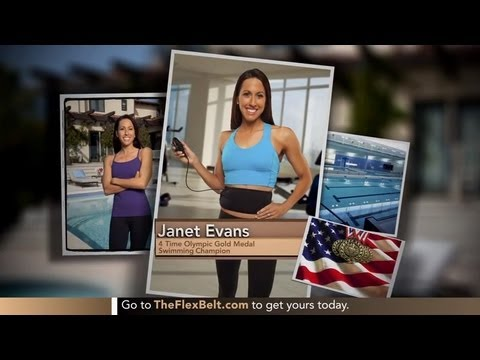 4-Time Olympic Gold Medalist, Janet Evans, talks about her sexy abs