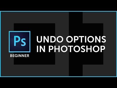 Photoshop Quick Tip: How To Use The Undo Options