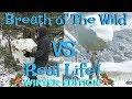 Zelda Breath Of The Wild Vs Real Life Funny Comparison & Funny Moments! (Winter Edition) (Botw)
