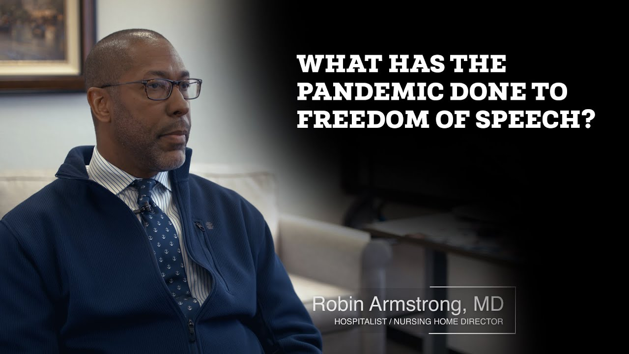 UNSEEN CLIP: What has the Pandemic done for Freedom of Speech? With Dr. Armstrong!