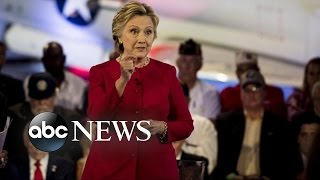 Hillary Clinton Attacks Donald Trump for Putin Praise