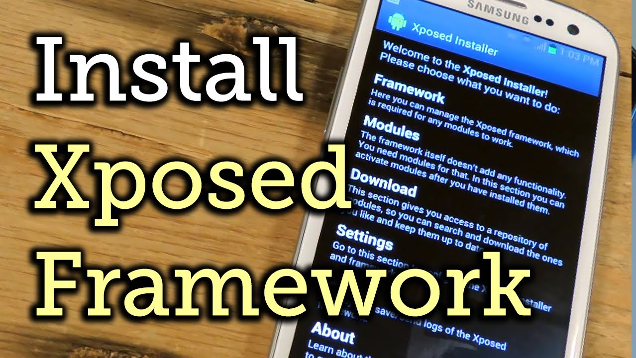 Install the Xposed Framework on Your Samsung Galaxy S3 [How-To]