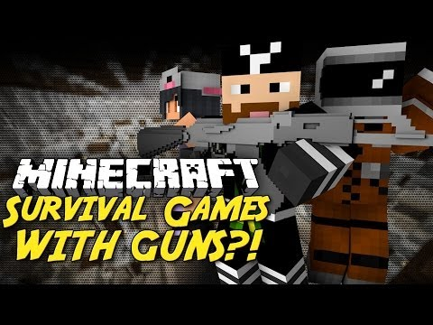 Minecraft Survival Games With Guns Youtube