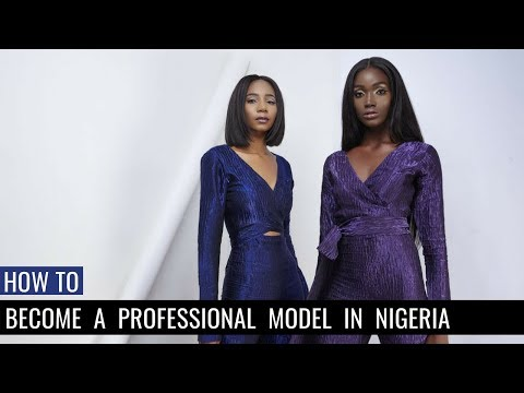 How to be a Professional Model in Nigeria