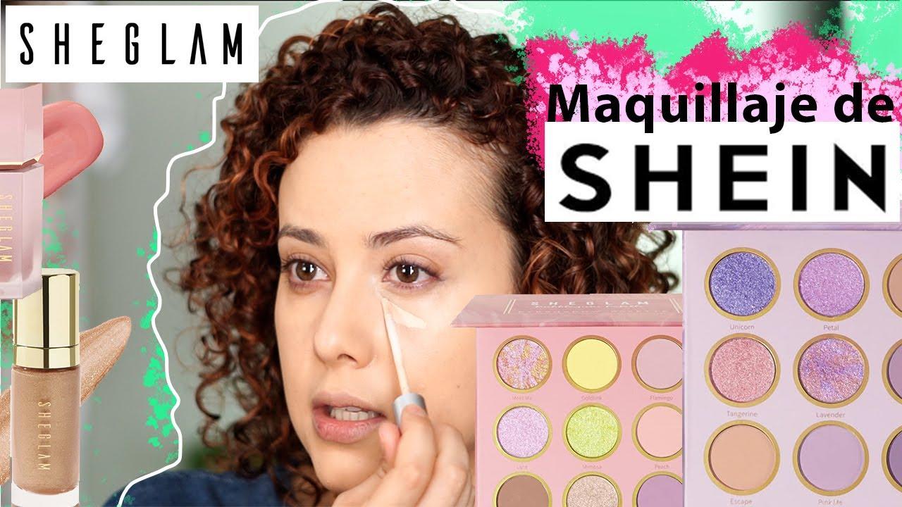 Probando SHEGLAM maquillaje de SHEIN