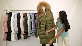 Обзор зимней курточки Clasna CW18D506CH. Jacket winter for women review Clasna 2018-2019.