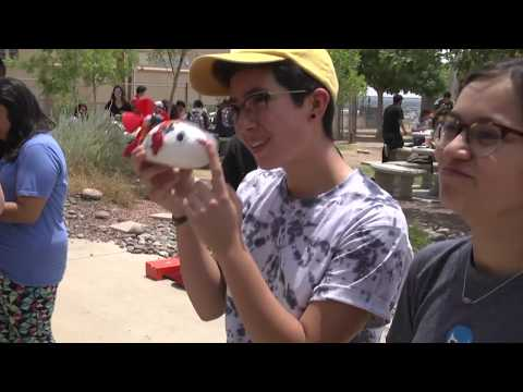 Physics Boats at El Paso High School