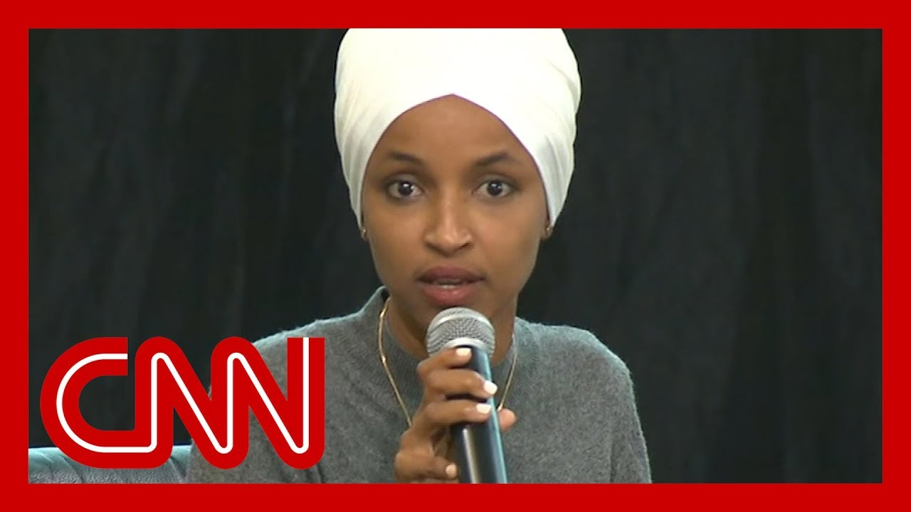 Download Rep. Omar calls audience member's question 'appalling'
