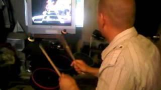 guitar hero drum expert whip it devo