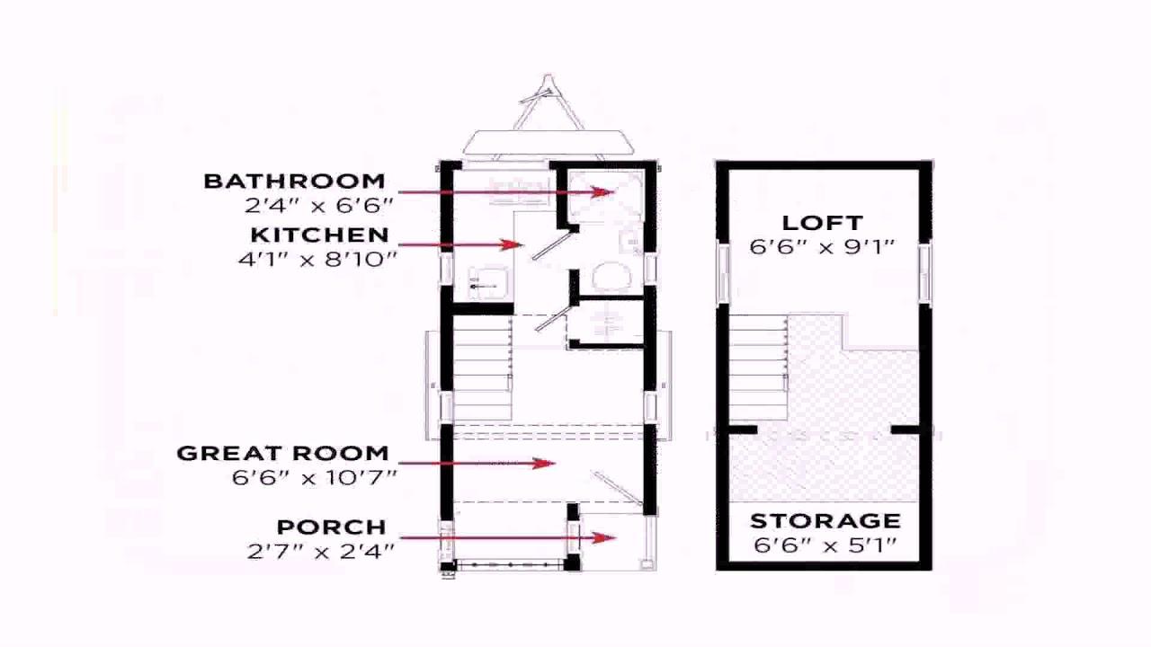 Tiny House Floor Plans With Measurements (see description