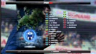 previa del parche de la liga mexicana para el pes 2012