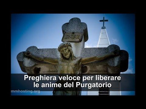 Preghiera veloce per liberare le anime dal Purgatorio