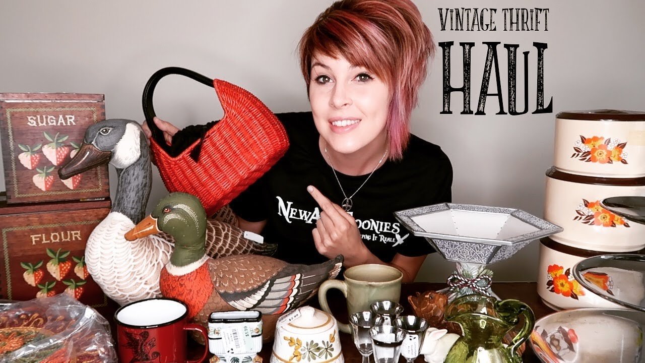 Vintage Thrift Haul How Much Can I Make Buying Reselling Youtube