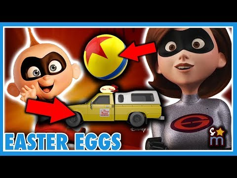 Incredibles 2 Easter Eggs REVEALED! Pizza Planet Truck, A113 & More!