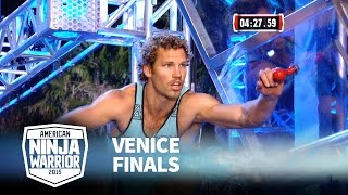 Grant McCartney at 2015 Venice Finals | American Ninja Warrior