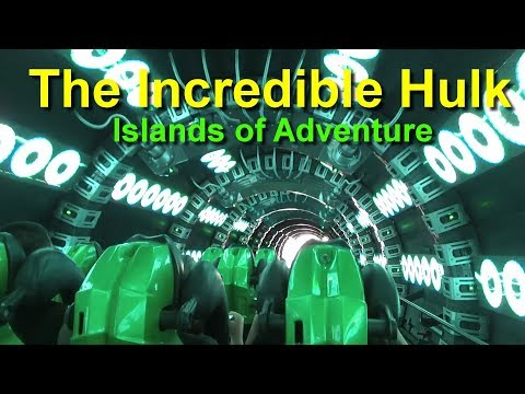 The Incredible Hulk Roller Coaster On Ride HD POV Islands of Adventure Universal Orlando