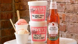 Rose Cider Ice Cream From Angry Orchard Is The Ultimate Summer Collab