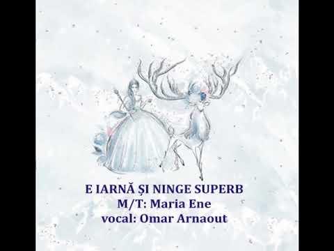 E IARNĂ ȘI NINGE SUPERB – Cantece pentru copii in limba romana