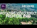 NEW SAM KOLDER ROTATING VIDEO EFFECT with FREE preset Adobe Premiere Pro