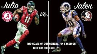 Epic GOAT Battle: Jalen Ramsey vs. Julio Jones!!!