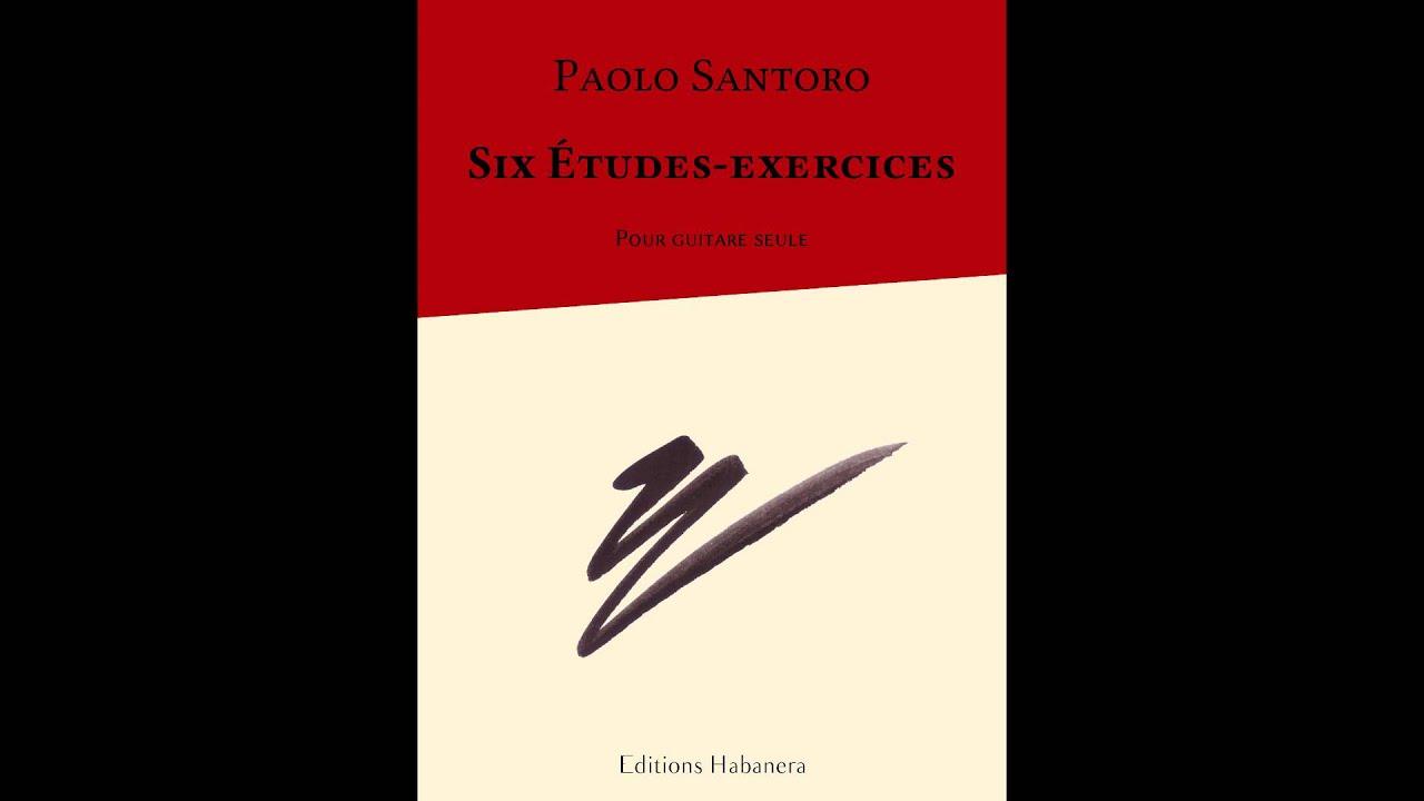 Six Études-Exercices - Paolo Santoro - Étude n°1