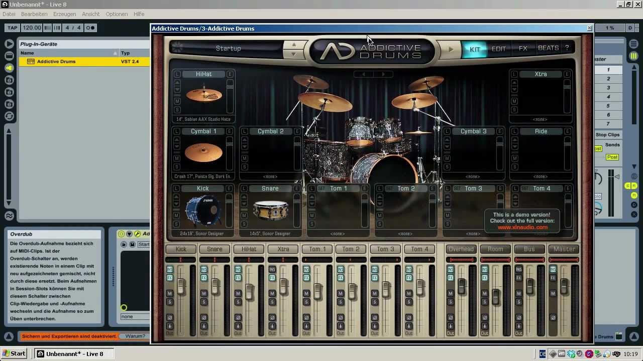 gratis drum machine auf jedem pc anleitung youtube