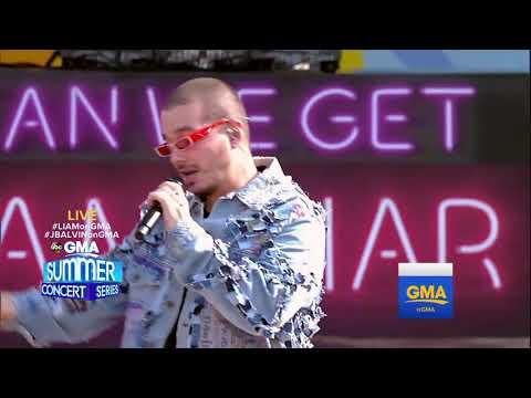 J Balvin - Mi Gente (Live At GMA)