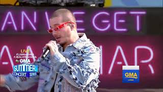 J Balvin - Mi Gente (Live At GMA)