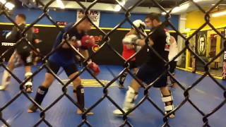Jimmie Rivera - T.J. Dillashaw sparring session