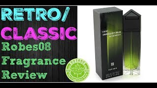 Very Irresistible for Men by Givenchy Fragrance Review (2005) | Retro Series