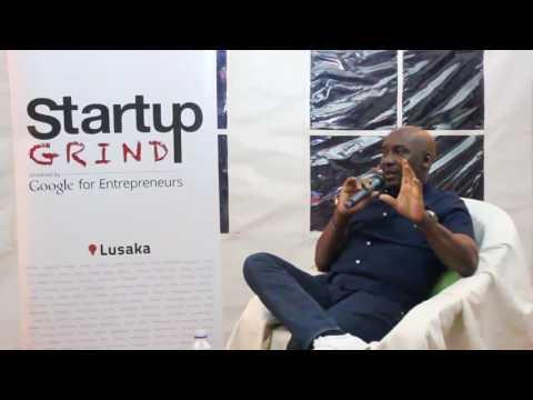 Chishala Chitoshi AKA Gesh Groove (Flava FM) at Startup Grind Lusaka