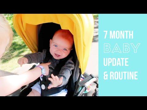 7 MONTH BABY UPDATE & FEEDING/SLEEPING ROUTINE