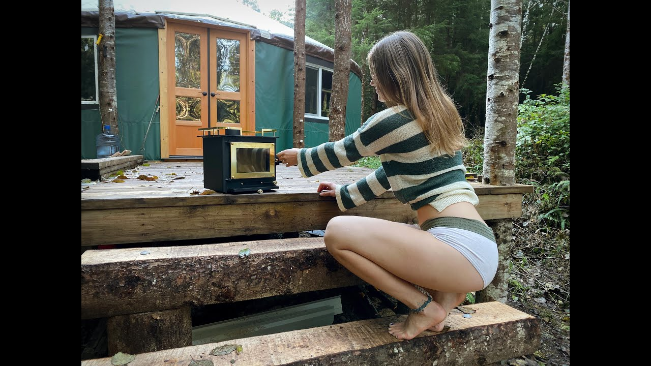 Living Off the Grid | Best Mini Wood Stove for Tiny Houses, Boats, and RV's - Ep. 55