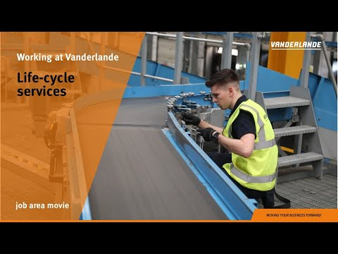 Life-cycle services | Job area movie | Vanderlande