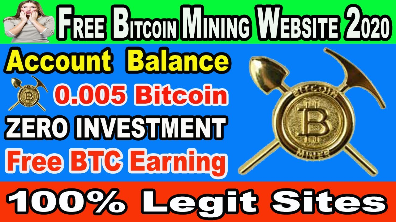 Free Bitcoin Earning Site 2020 | Earn 0.005 Btc Daily Without-invest | Mining 1000 GH/s Power ...