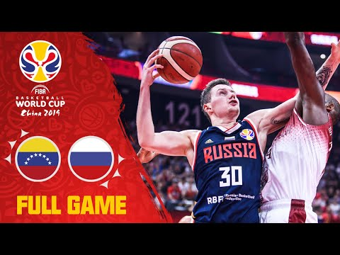 Venezuela & Russia left it all on the court! - Full Game - FIBA Basketball World Cup 2019