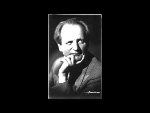 Kempff plays Schubert Piano Sonata in A-flat Major D557